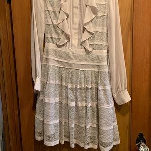 BCBG Lavender Lace dress